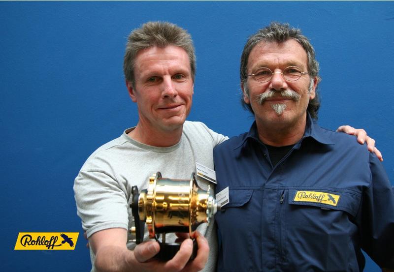 Peter Smolka - výherce 24 karátového náboje Rohloff SpeedHub 500/14